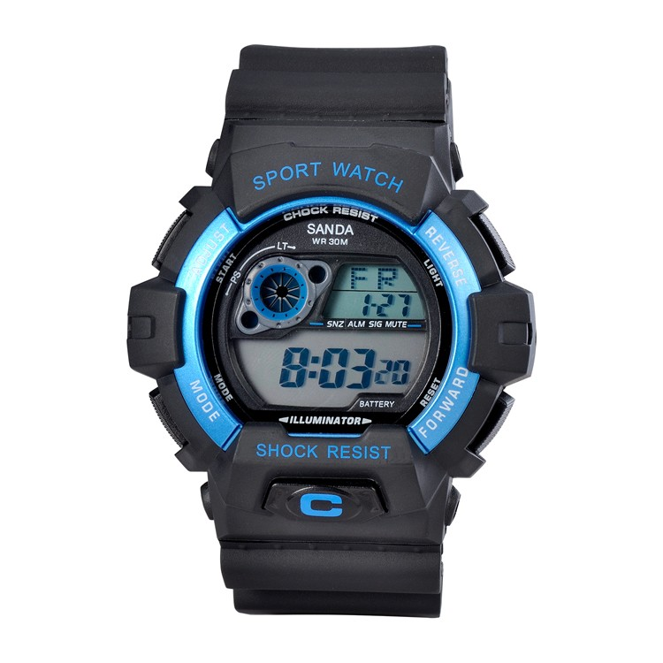 2016 Hot Sale Rubber Design Guangzhou Watch Factory Direct Sale Quartz Watch Digital