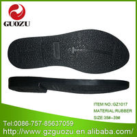 ladies black dress shoes rubber sole for wholesale