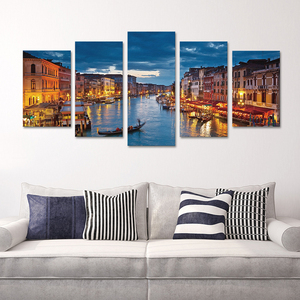 Home decor frameless canvas painting