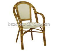 garden rattan chair/ outdoor bamboo like chair/ patio chair