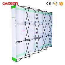 Factory price high quality fashionable pop up jewelry display stand case for exhibition