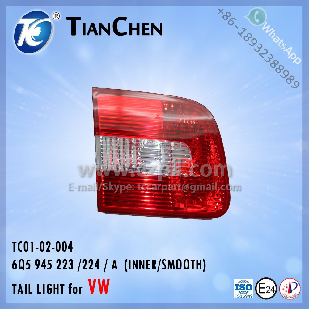 TAIL LIGHT for VW POLO 2002 - 2006 OUTER (CURVED) 6Q5 945 111 / 112