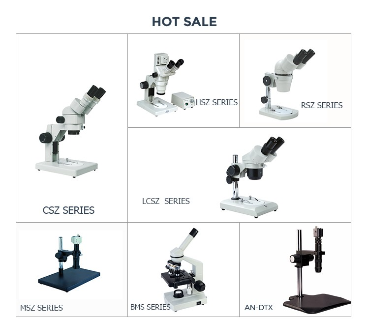 high precision portable metallurgical binocular microscope