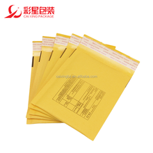 Manufacturer Wholesales Yellow Kraft Air Bubble Envelope Poly Padded Mailer Bag 150*180mm