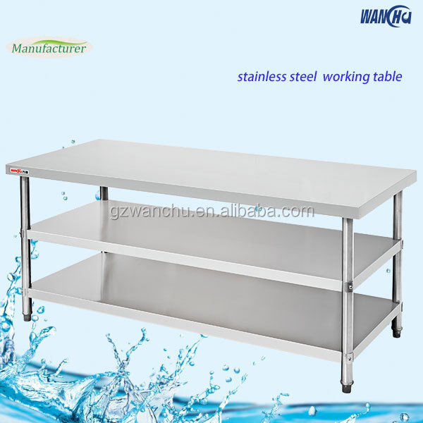 Restaurant Kitchen Work Tables singapore stainless steel commercial kitchen buffet work table