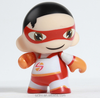 OEM custom pvc figurine with movable hand/plastic pvc creative superman figure toy/pvc munny action figure