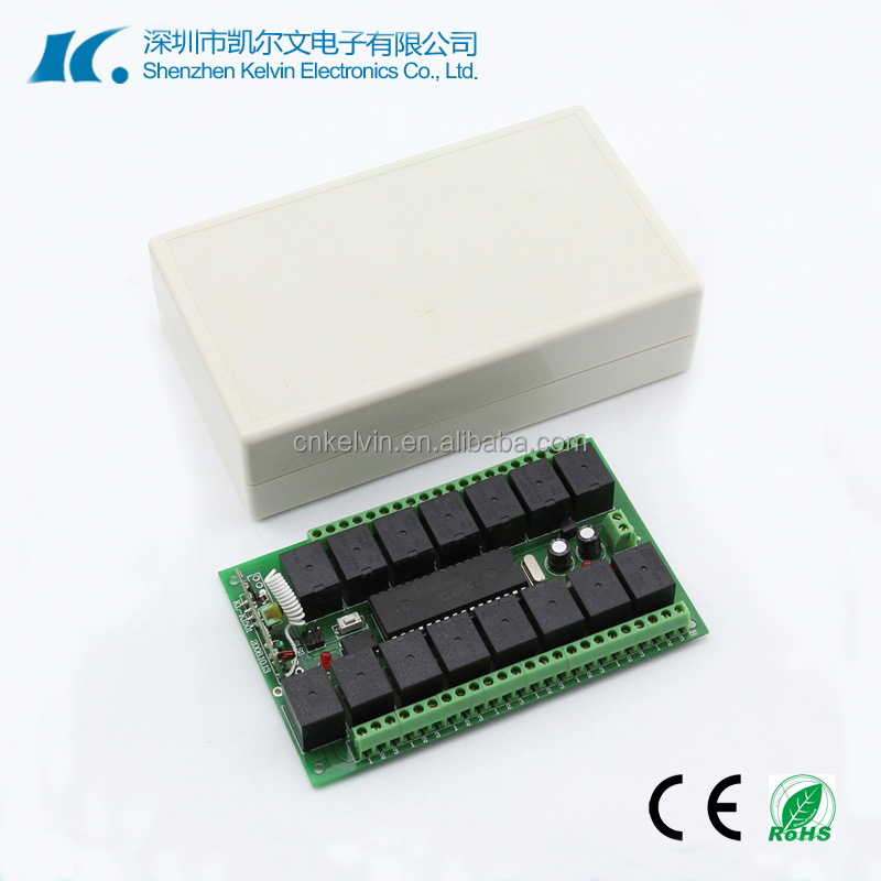 15 Channel DC12V Remote Controller in Momentary Latched Toggle KL-K1501