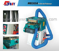 Wood double side joint thicknesser