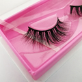 Soft and charming 3d lashes mink private label deodorant custom box eyelash