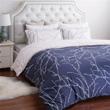 New Design Bedding Set Factory Custom Printed Bed Duvet Cover with Zipper