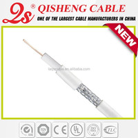 Best price free sample 5C2V 75 OHM RG6U coaxial cable for cable services by zip code