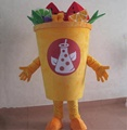 HOLA custom mascot costume for shop/cup mascot costume price