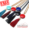 Leather Tassel Necklace For Women N7