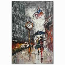 Abstract pallet knife sexy pictures of girls without d nude on street oil painting
