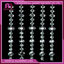 2016 Hot selling Line Type Crystal Beads Door Curtain CS910