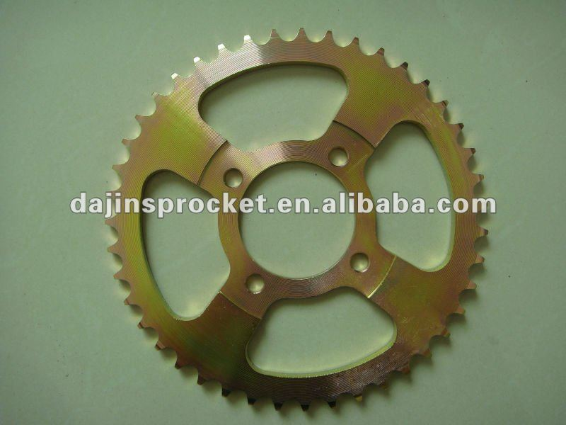 high quality motocycle sprocket for AX100 CG125