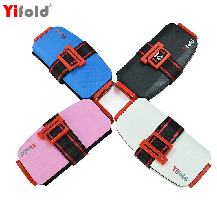 Yifold portable safety booster baby car seat