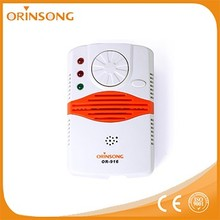 early warning sound light alarm gas leak detector gas alarm