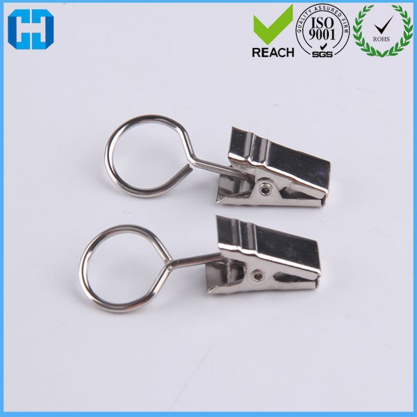 Factory Export Stainless Steel Curtain Ring With Clip