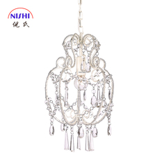 High Quality Nis NS-120147 Rain Drop Crystal Hanging Lights Indoor Pendant Lamp Clear Glass