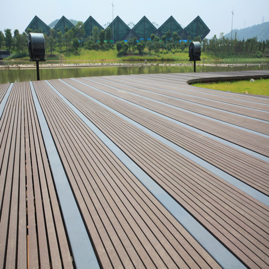 Top Quality Solid wpc eco deck, wpc crack-resistant decking, composite decking solid