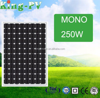 Manufacturers in China Green Energy 250W Mono Flexible Solar Panel Price