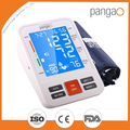 Pangao home use healthcare use upper arm blood pressure meter monitor with talking