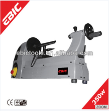 EBIC woodworking lathe machine 350W cheap used wood turning lathe price for sale
