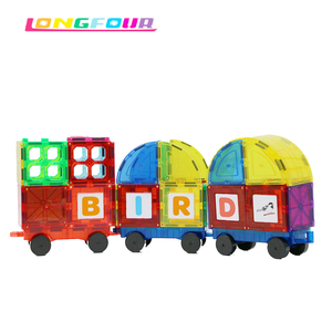 Hot Selling Children Plastic Magnetic Building Blocks Toy For Sale
