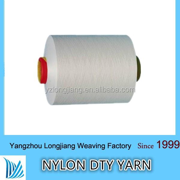 100% nylon 6 nylon 66 trilobal nylon fiber raw white 110dtex/36f/2