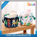 Encai New Printing Foldable Small Storage Box Little Stuff Storage Basket