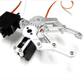 Aluminium Alloy Mechanical Robotic Claw for Educational Robot