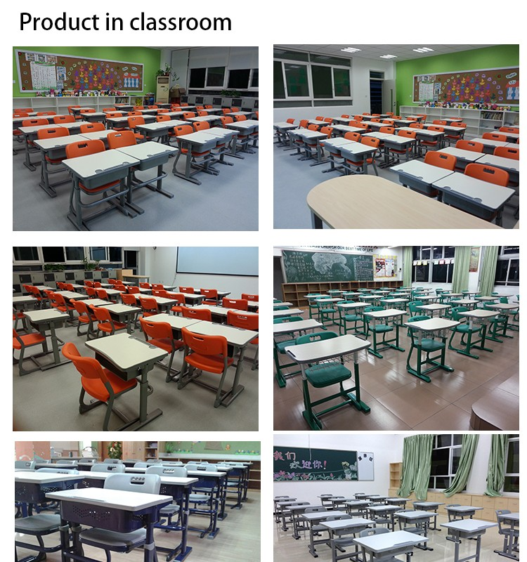 List Of Classroom Furnitures : L doctor brand student desk and table school furniture