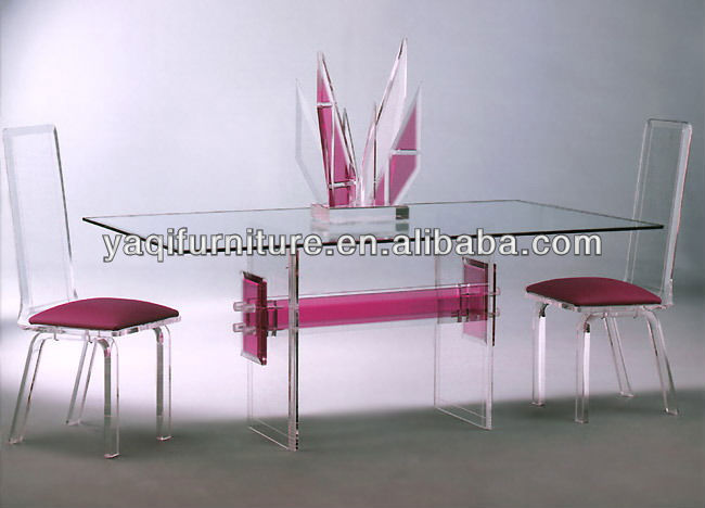 Pink Double-H Table