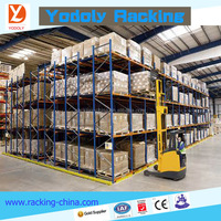 CE China warehouse racking system adjustable steel heavy duty pallet rack
