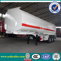 tri-axle brand new water tank trailers