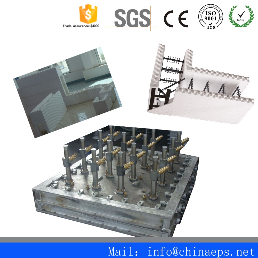 Hot Sell extruded polystyrene foam Mould/EPS CIF Mould