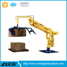 Standing type crane vacuum manipulators for lifting 30kg cases and paper bags