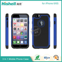 PC TPU 2 in 1 case for iPhone 6 cell phone case
