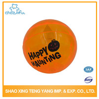 High bounce toy ball with flashing light
