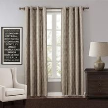 UNIKEA 1-Piece Jacquard Luury Curtains For Living Room Blackout Curtain For Bedroom Drapes Punching tende cortinas rideau