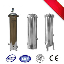 Multi SS industrial filtration equipment with 1 micron cartridge filter