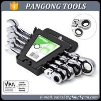 OEM brand accepted Free sample Combination ratchet spanner tool