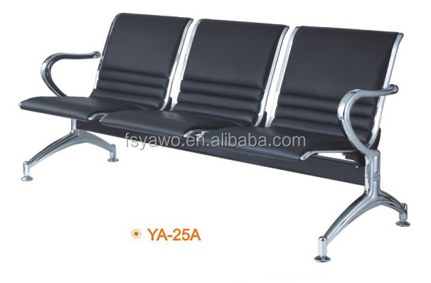 Business commercial furniture baber shop customer waiting chairs for salon