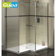 Ningbo Guida Brand Quality Simple Toughened Glass Enclosed Whole Shower Room
