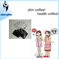 Alibaba China instant lose weight black slimming coffee