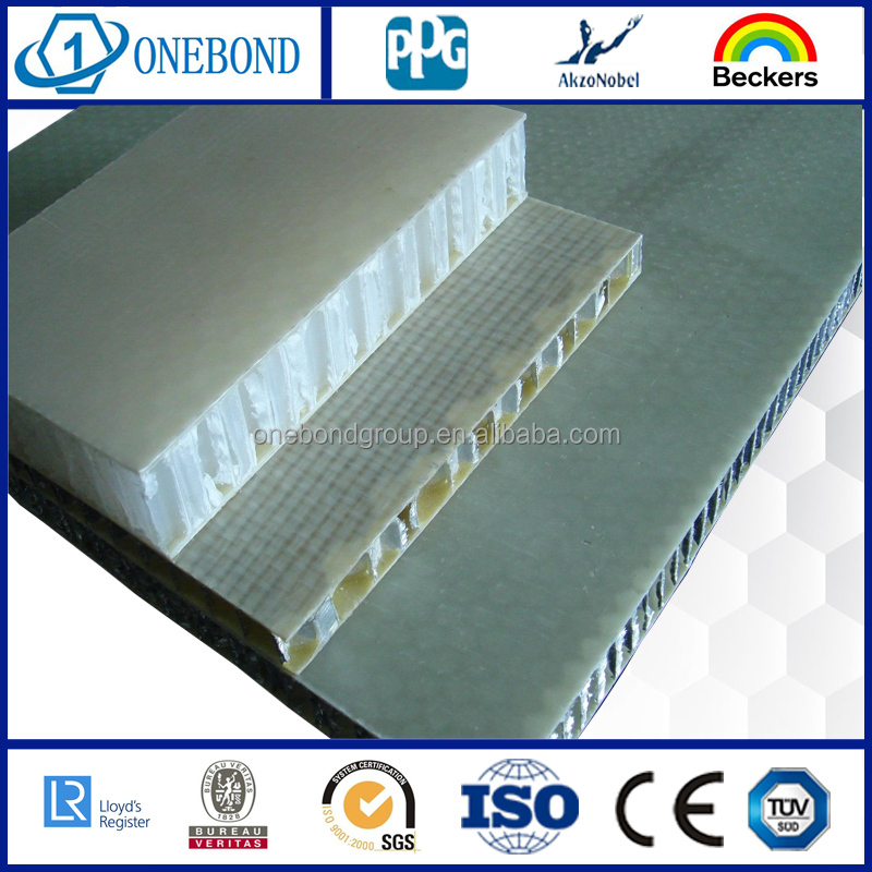 Fiberglass composite aluminum honeycomb core/FRP honeycomb panel/curtain wall panel