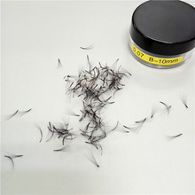 Loose jars eyelash extensions Russian volume 4D lashes 5D 0.07mm eyelashes