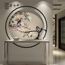 High-end textile embroidery wallpaper for home