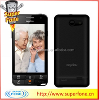 V3 3.97 inch hot sale paypal cheap China made SOS Emergency call smartphone for old people